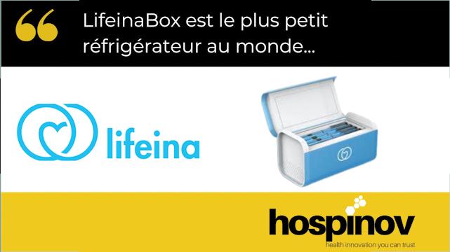 LifeinaBox mini frigo médical